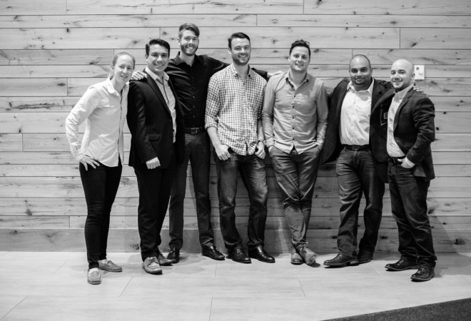 LaunchSource Team black and white